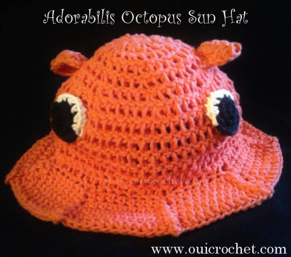 Adorabilis Octopus Sun Hat 3