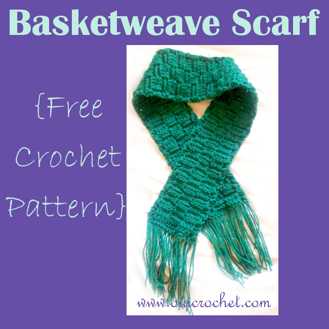 Basket Weave Scarf A