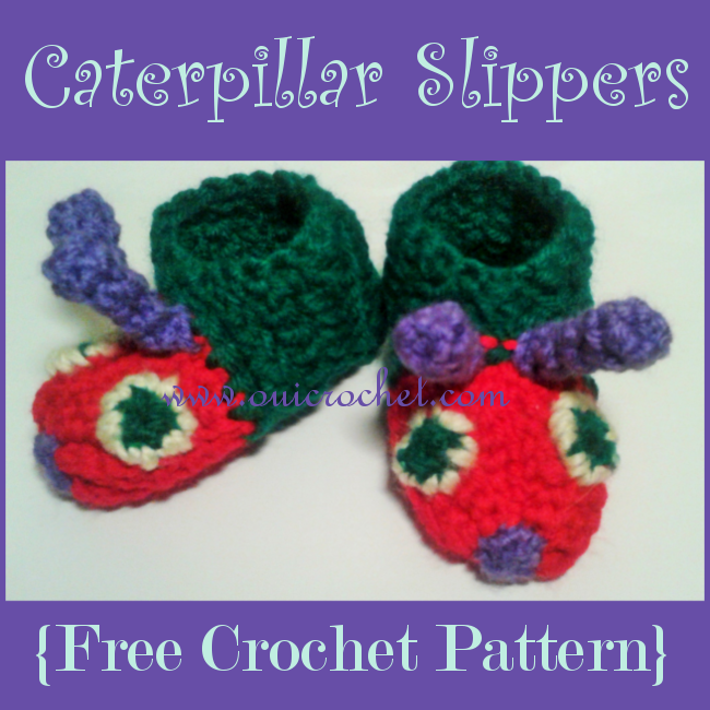 Caterpillar Slippers