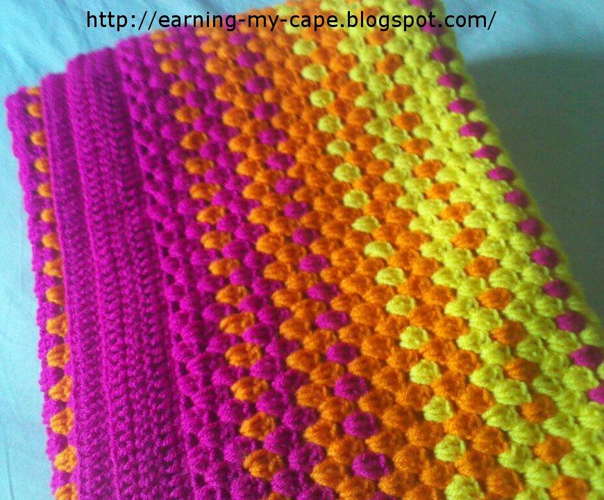 Color Burst Blanket 5