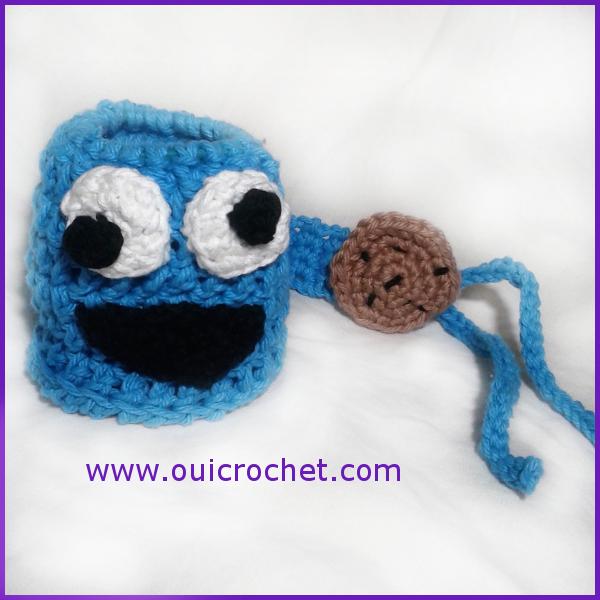 Cookie Monster Sippy Cozy Sesame Street Cookie Monster Sippy Tether Crochet Sippy Cozy Crochet Crochet Cookie Monster 2