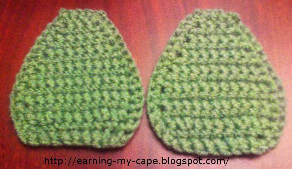 Crochet Purse sides