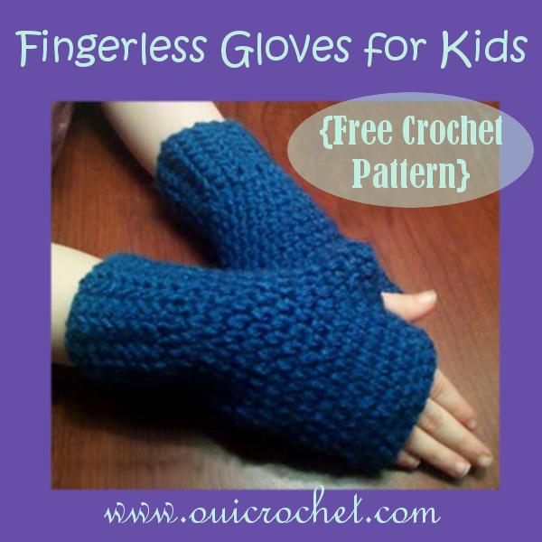 Fingerless Gloves For Kids