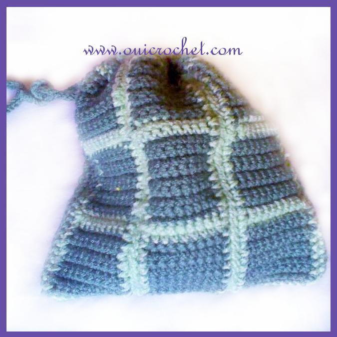 Garden Party Tic Tac Toe Crochet Pattern