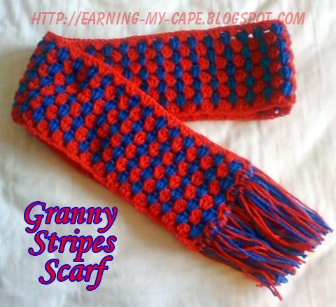 Granny Stripes Scarf 2