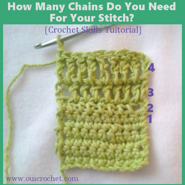 How Many Chains Do You Need For Your Stitch 1
