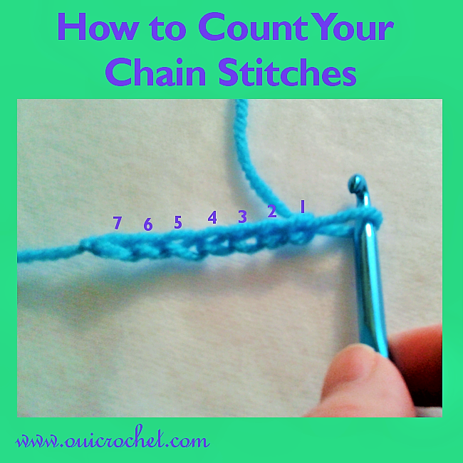 How to Count Your Chain Stitches 2