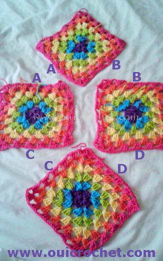 How to Crochet Granny Square Poncho