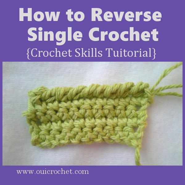 How to Reverse Single Crochet
