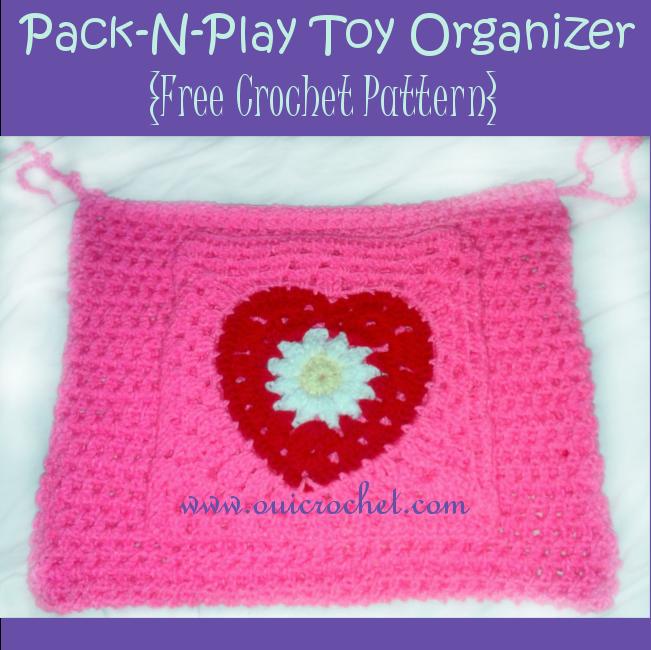 Pack N Play Toy Organizer