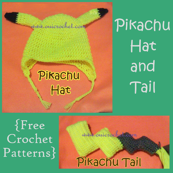 Pikachu Hat and Tail
