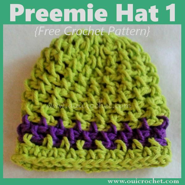 Preemie Hat 1 Crochet Pattern
