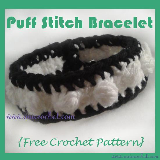 Puff Stitch Bracelet A