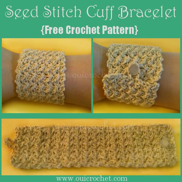 Seed Sti8tch Cuff Bracelet