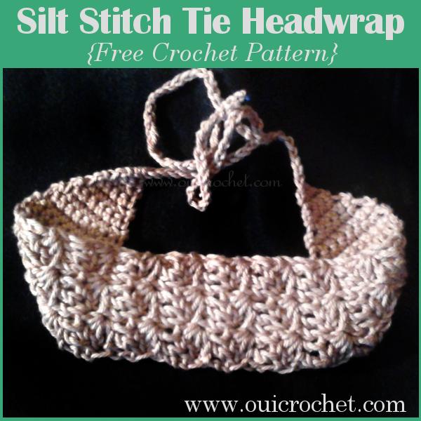 Silt Stitch Tie Headwrap
