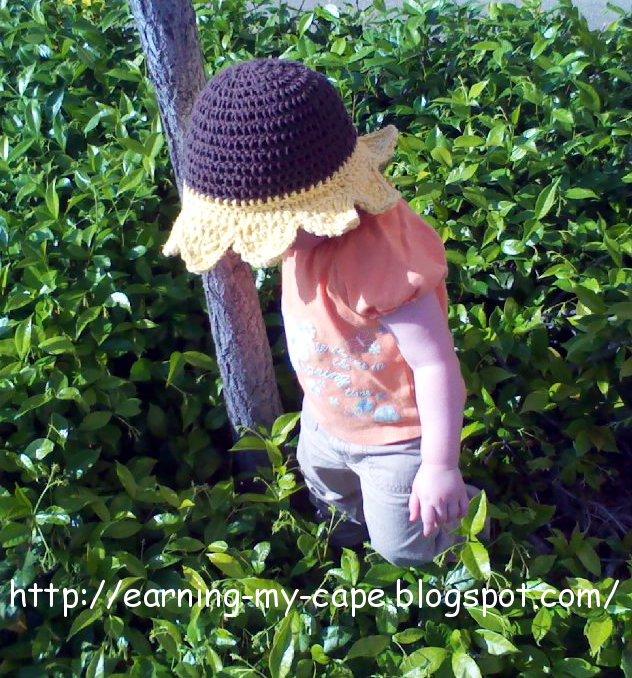 Sunflower HatA