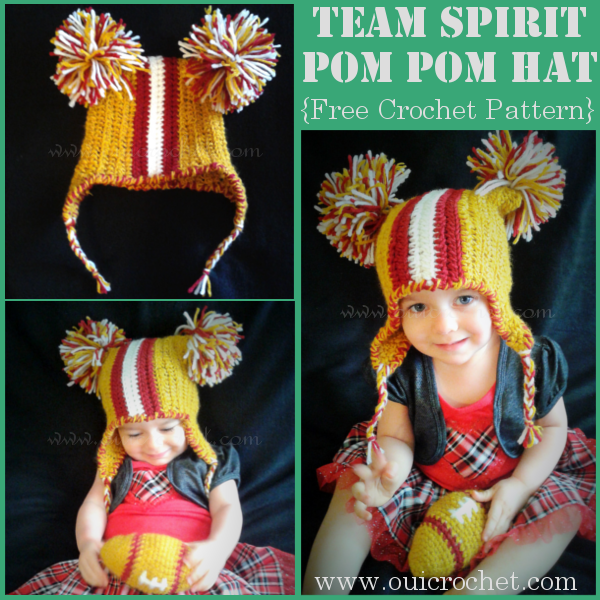 Team Spirit Pom Pom Hat 1