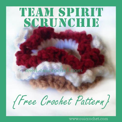 Team Spirit Scrunchie 7